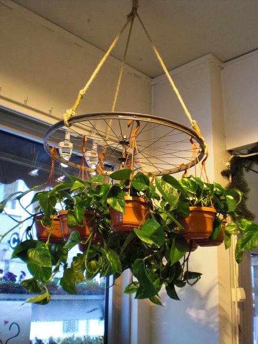 Как сделать подвесное кашпо для сада своими руками