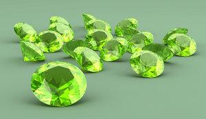 Камни талисманы: демантоид