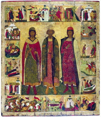 Почему были канонизированы Князья Борис и Глеб?