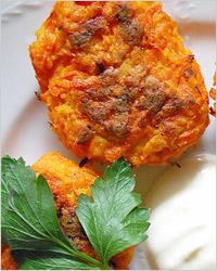 Котлеты из моркови