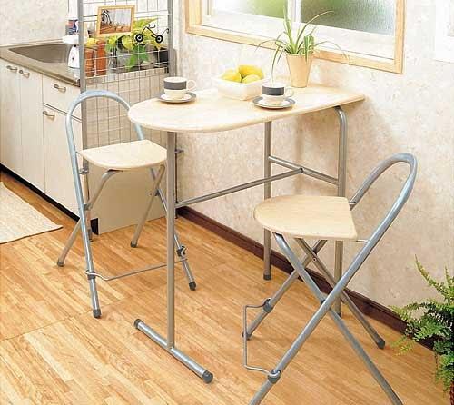 Занимательно о кухонных столах