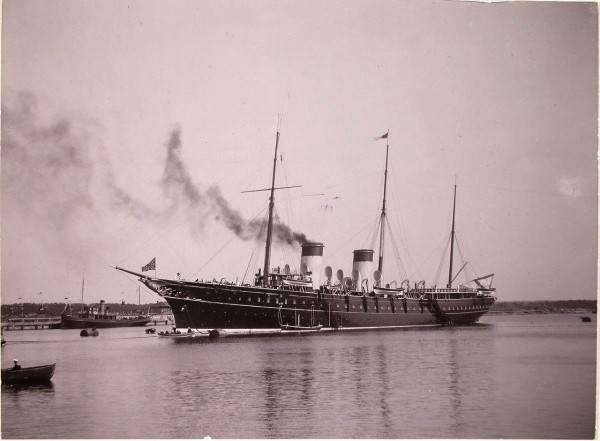 Последняя яхта государя импе…