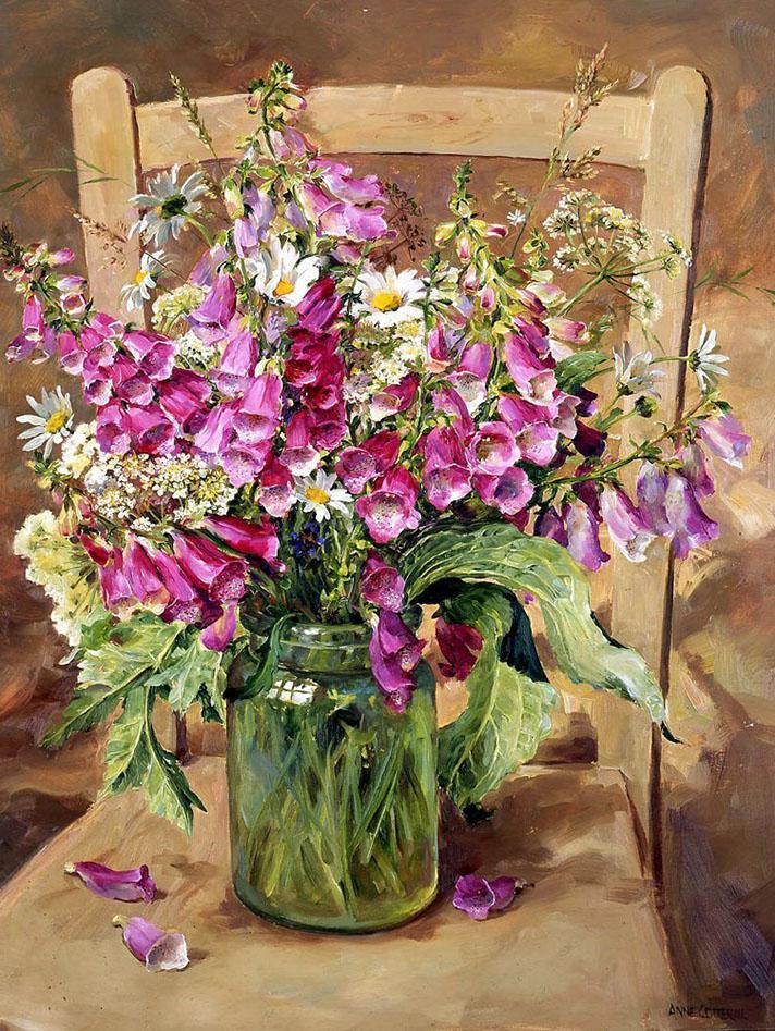 И у цветов есть душа — очаровательные натюрморты Анны Коттерилл