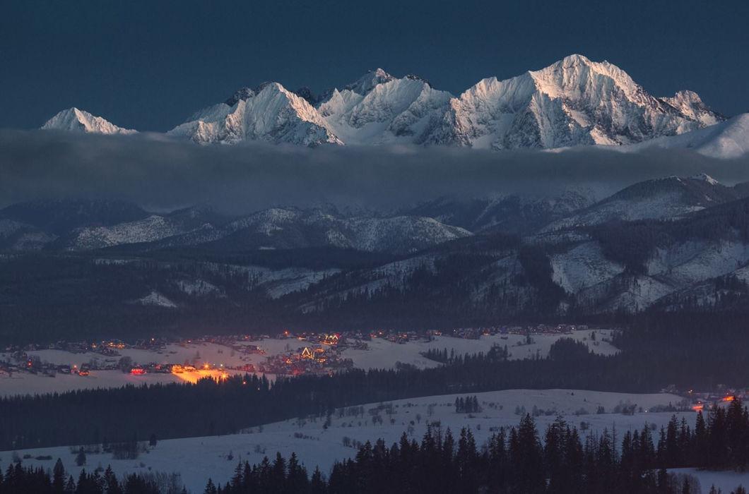 Завораживающая красота польских гор зимой