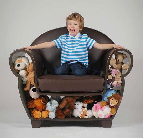 Где хранить детские игрушки и вещи: 5 советов и 15 наглядных примеров