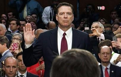 Экс-глава ФБР дал показания против Дональда Трампа в Сенате
