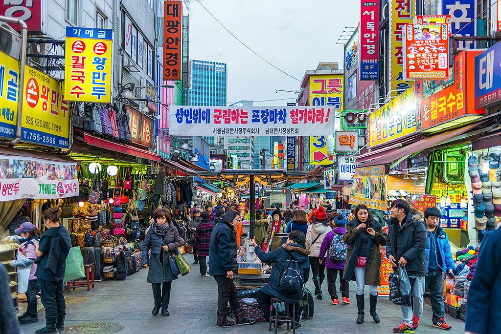 ТОП лучших рынков и торговых центров Сеула