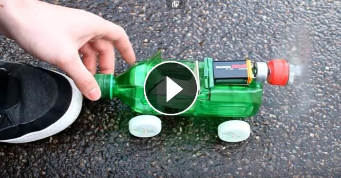 Как сделать пластиковую машину
