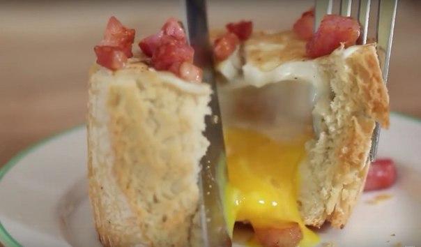 Вот так завтракают в Бразилии! Замечательная идея для приготовления яиц.