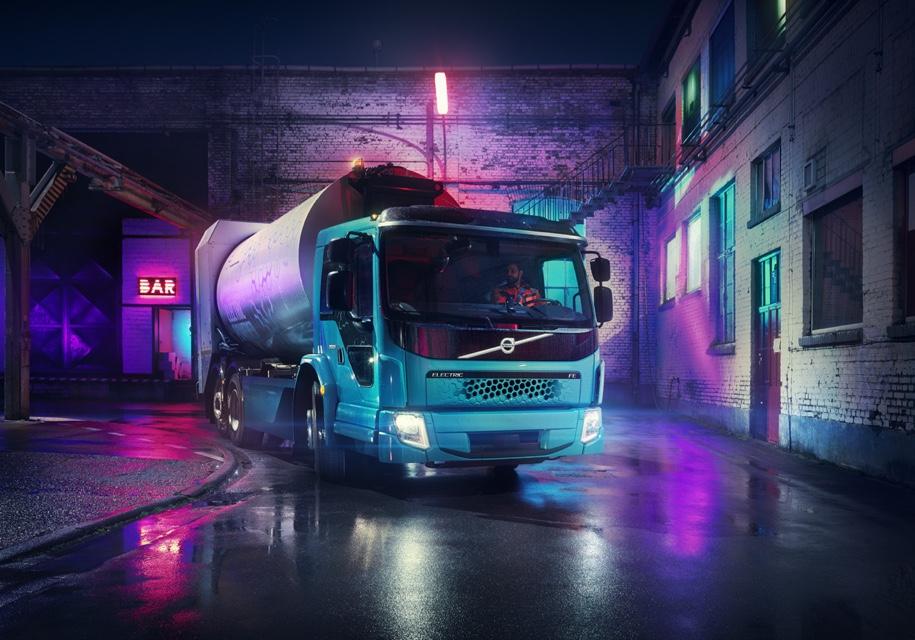 У Volvo появился второй бесшумный и безвредный грузовик