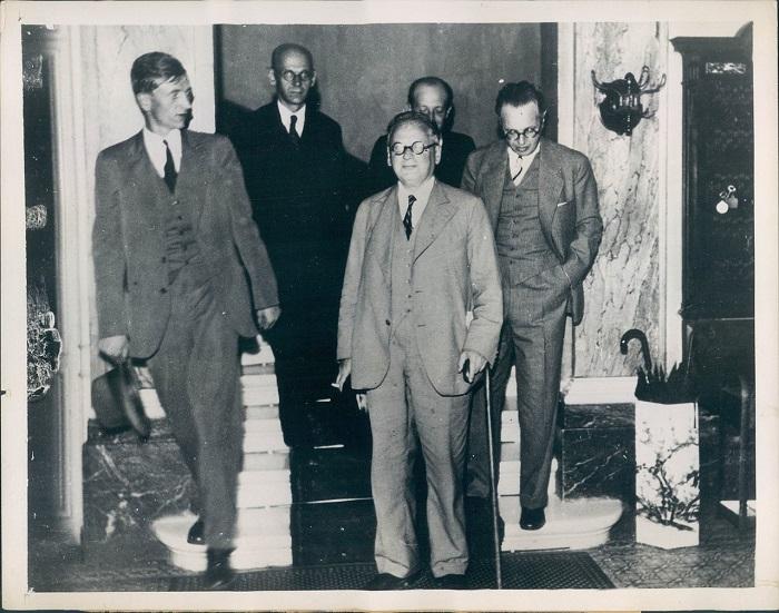 Принятие СССР в Лигу Наций, 1934 год.