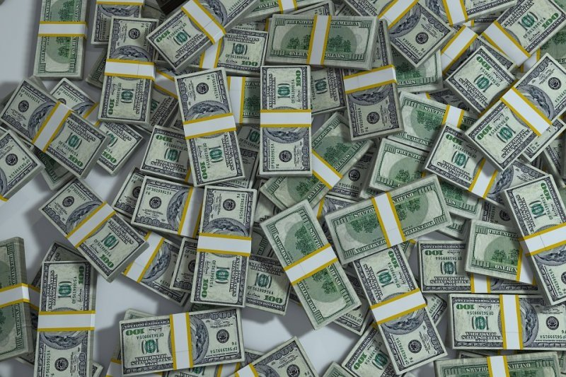 0,1 × 39 800 000 000 = 3 980 000 000 мм, или 3980 км — такой высоты будет пачка банкнот, если собрать все бумажные доллары на Земле и сложить их друг на друга и эта пирамида выйдет за пределы атмосферы интересное, мир, факты, цифры