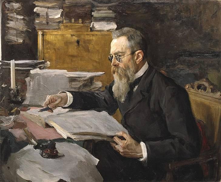 Великий русский композитор Николай Римский-Корсаков