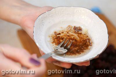 Салат из репы со свеклой и орехами, Шаг 04