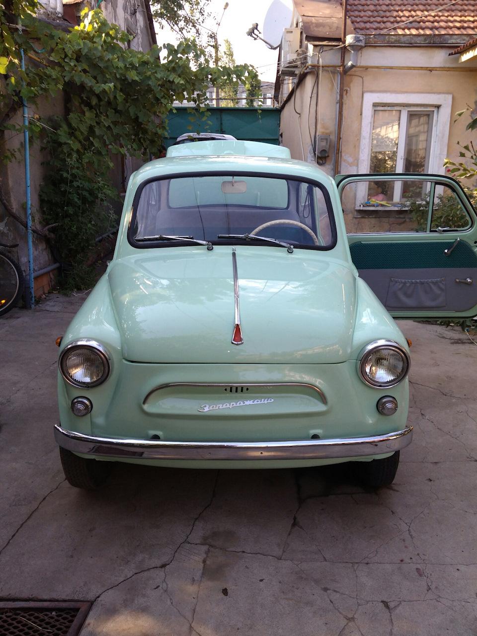 Реставрация ЗАЗ 965А 1967 года выпуска. Личный опыт