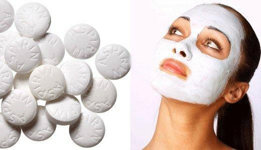 Аспириновая маска для лица т…