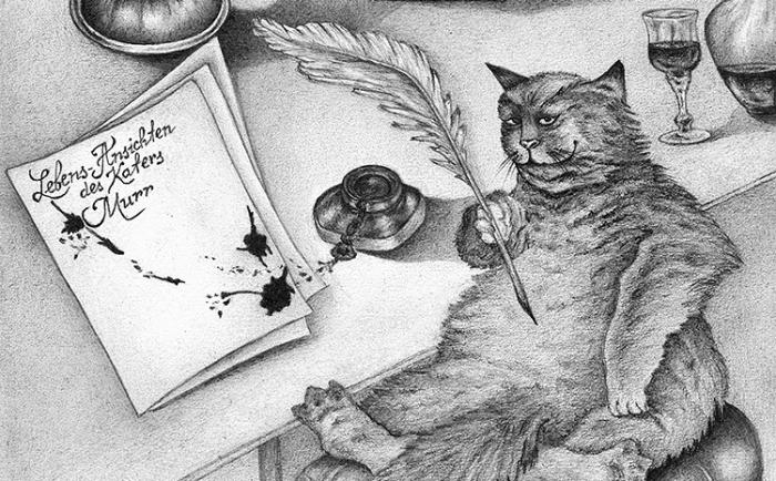 История появления литературных котов