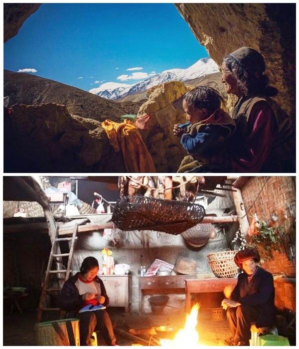 Местные жители довольны своим существование и не собираются покидать родную деревню (Чжундун, Китай).   Фото: epochtimes.ru.