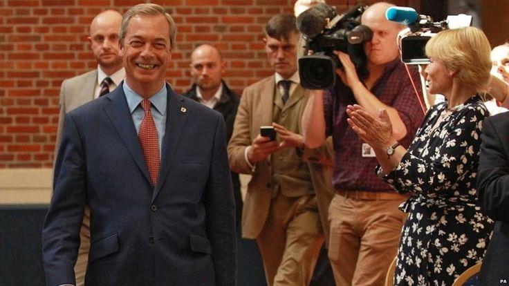 Человек, обещавший вернуть Британию. История евроскептика Найджела Фараджа