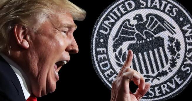 Пусть санкции введет против ФРС?