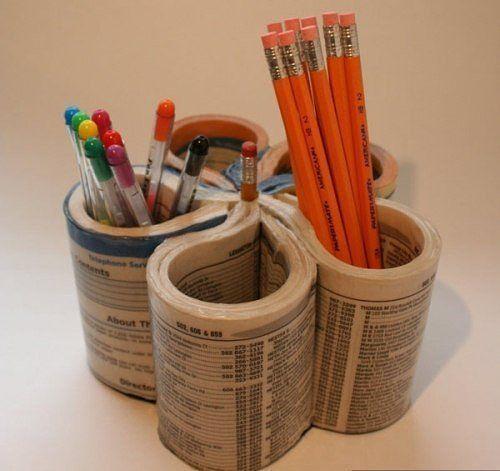 Газетно-журнальный декор или 24 вдохновляющие идеи использования старых журналов