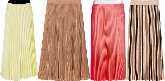 Тренд сезона: юбки плиссе (фото 10)