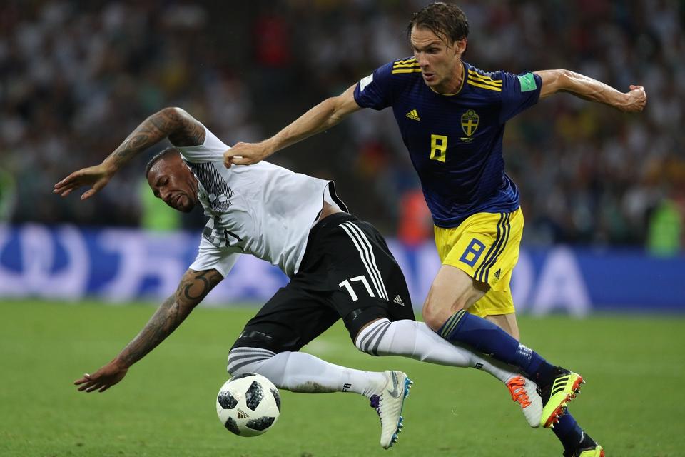 Германия одолела Швецию в тр…