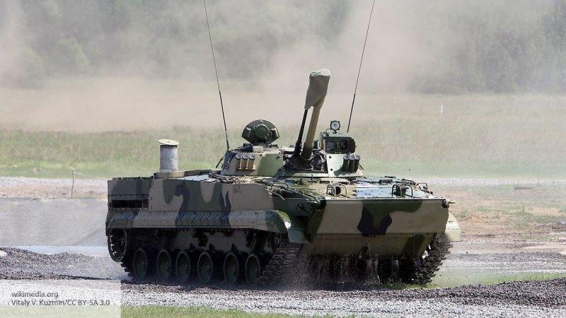 Российская БМП-3 «засветился…