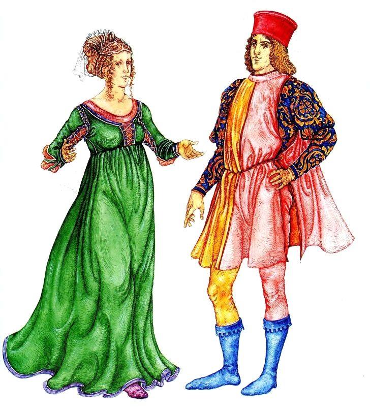 История моды. Костюм эпохи Возрождения. Италия