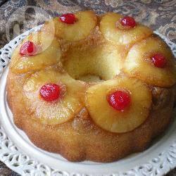 Кекс с ананасами консервированнымиы