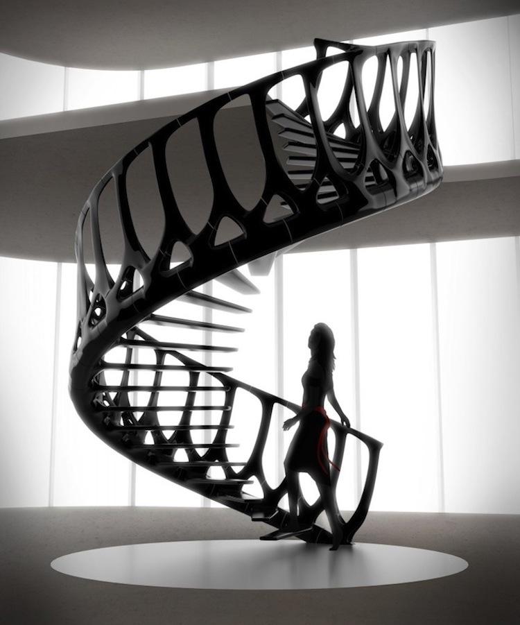 Красивая лестница
