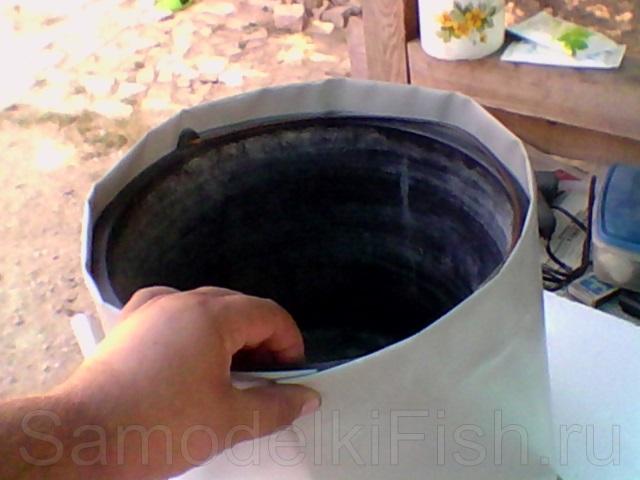 Как сделать ведро для прикормки
