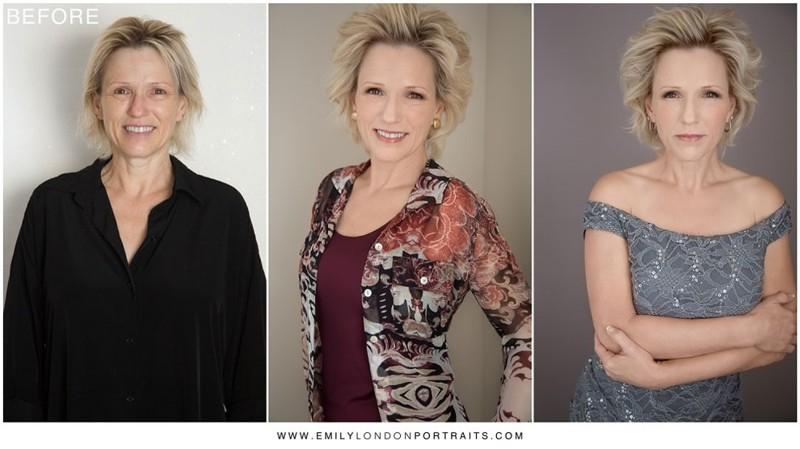 Фотограф доказал, что причёска и правильный макияж превращают любую женщину в красавицу