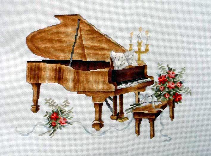 Схемы для вышивки крестом рояль