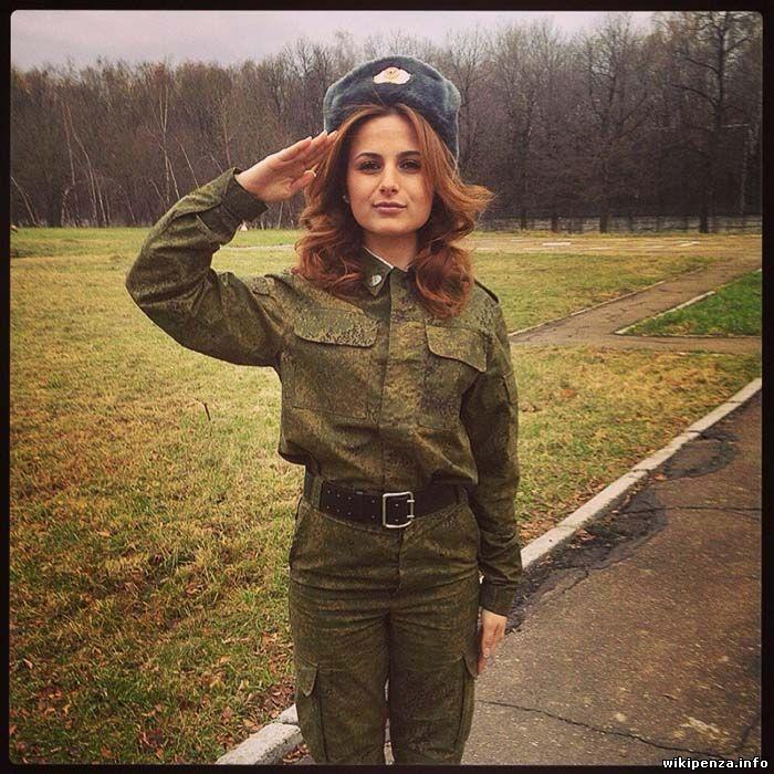 Военная форма для девушки
