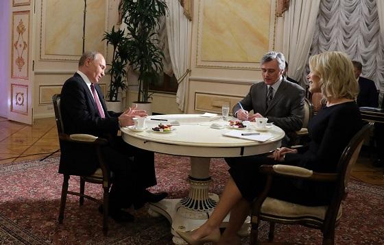 Интервью американскому телеканалу NBC
