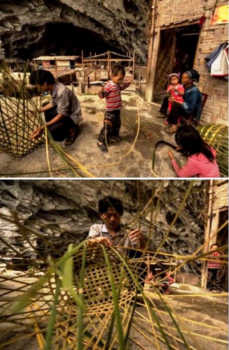 Женщины и дети зарабатывают рукоделием (Чжундун, Китай).   Фото: youtube.com.