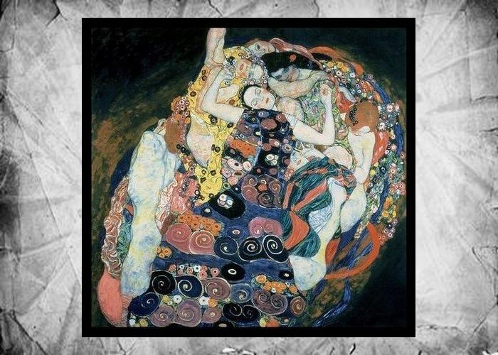 Фрагмент картины Густава Климта «Невинность», 1913 год.