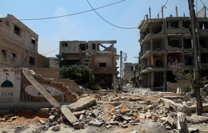 Сирийские войска уничтожили свыше 50 наемников под Дамаском