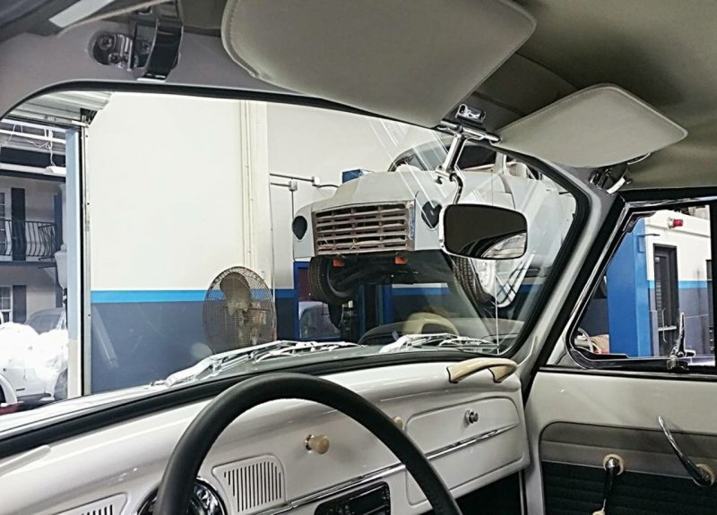 Увеличенная копия VW Beetle beetle, volkswagen, vw