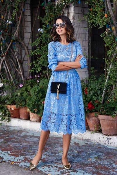16 кружевных платьев для самых нежных и романтичных женщин