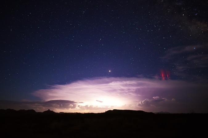 Удивительные виды молний