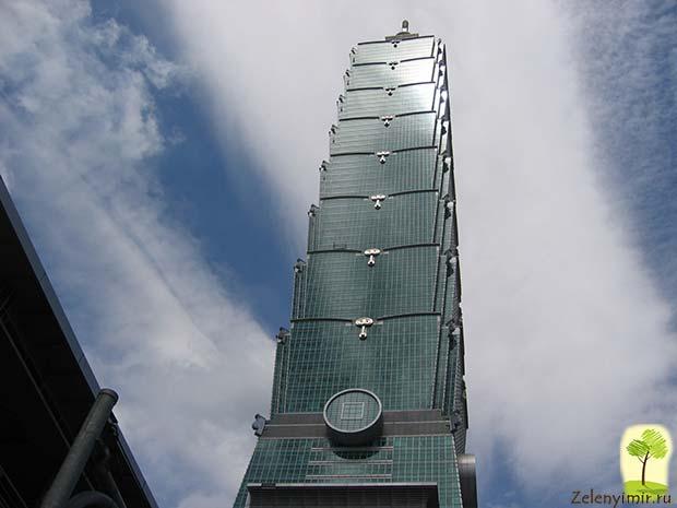 Гигантский небоскреб Тайбэй 101 в Тайване - 11