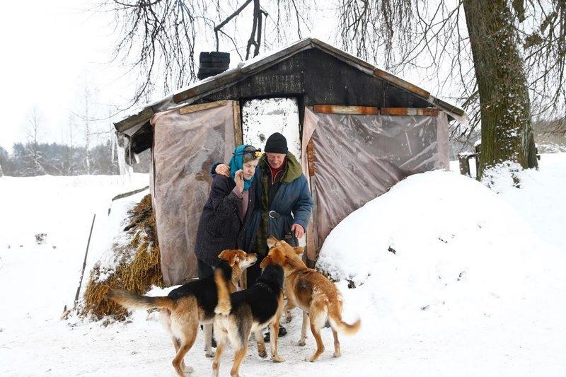 Нет людей, нет проблем: как живет семья отшельников в белорусском лесу