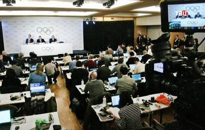 МОК отстранил сборную России от участия в Олимпиаде