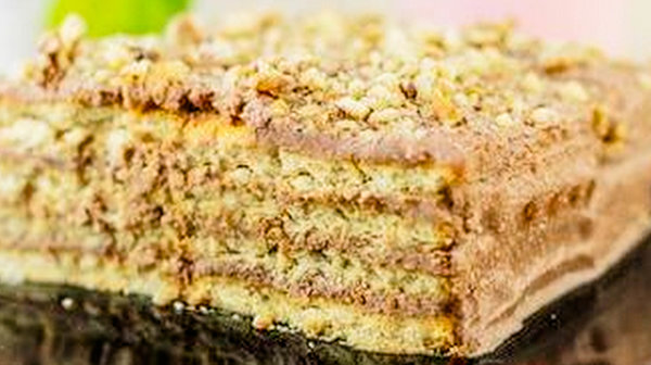 «Творожный торт из печенья». Без выпечки