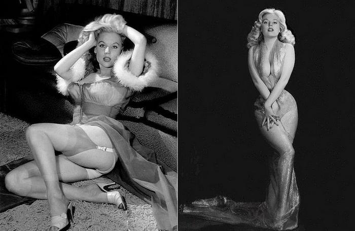 Бетти Бросмер - самая известная фотомодель 1940-х годов