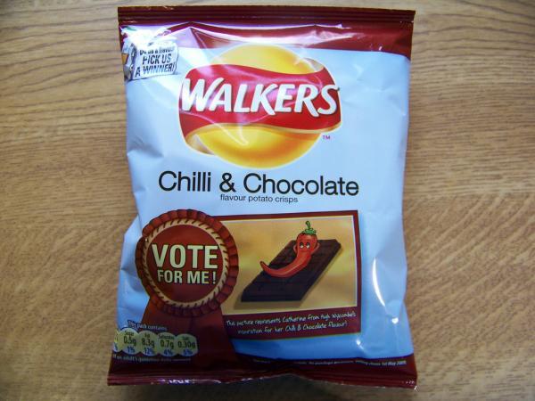 Чили и шоколад