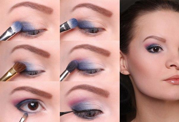 макияж для маленьких зеленых глаз