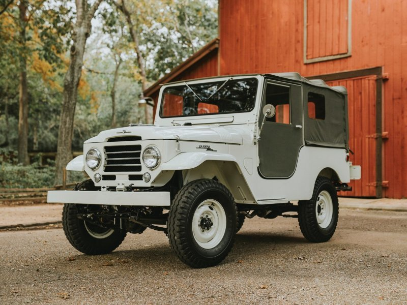 Toyota Land Cruiser FJ25 1955-1960: с чего начинался Крузак! land cruiser, toyota, toyota land cruiser, авто, автомобили, олдтаймер, реставрация, ретро авто
